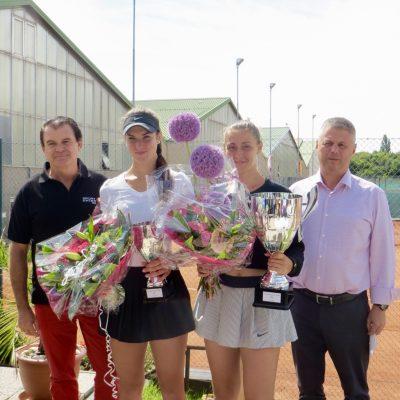 "Foto: ""ITF Ladies Future Vienna"" & Sponsorenabend im Tenniscenter La Ville"