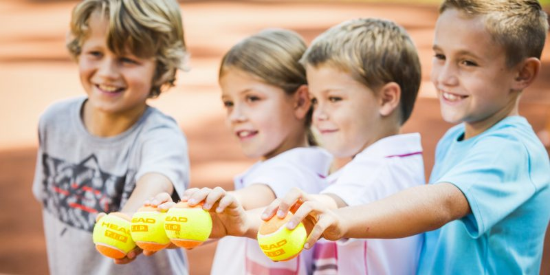 Tenniscamps für Kinder