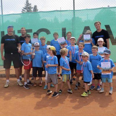 Foto: Tenniscamp in der 1. Ferienwoche – UTC La Ville Mauer