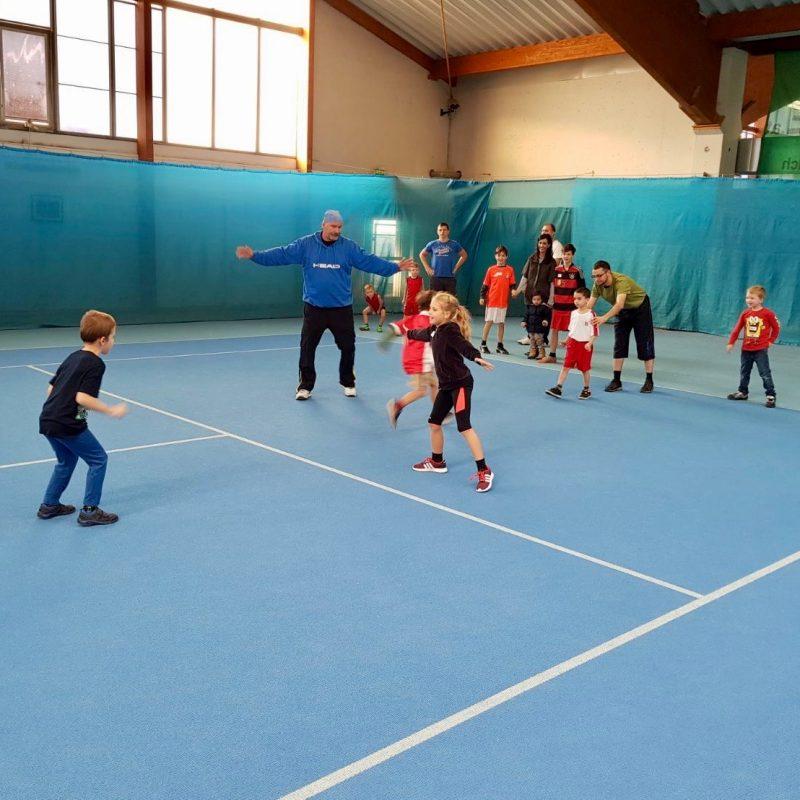 Familien Tennis Tag in Kooperation wienXtra-kinderaktiv am Tenniscenter La Ville