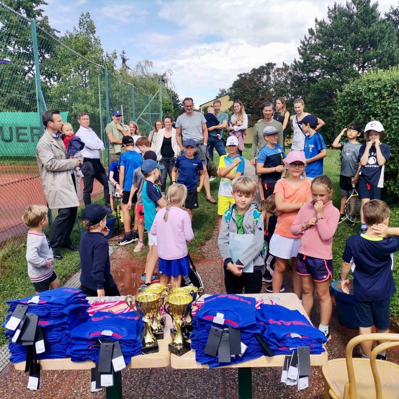 Wieder ein super Tenniscamp in Mauer!