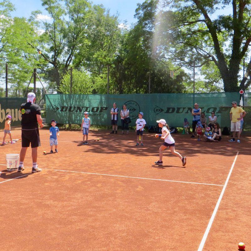 Familien-Tennis-Tag am Vatertag