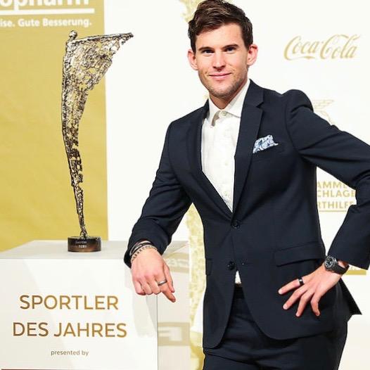 Dominic Thiem ist Österreichs Sportler des Jahres