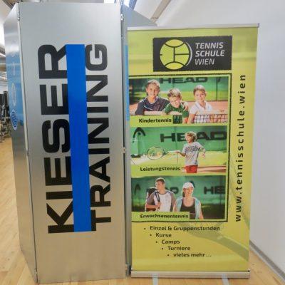 Foto: Start der Kooperation mit Kieser Training – Ja zu einem starken Körper